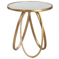 Mindy Brownes Montrez Accent Table Gold