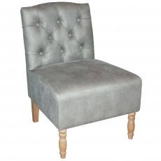 Mindy Brownes Morgan Chair Fabric Grey