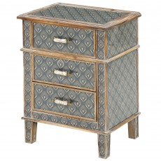 Mindy Brownes Freya 3 Drawer Locker Aztec/Peruvian