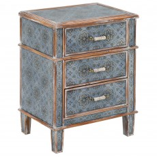 Mindy Brownes Alisha 3 Drawer Locker Blue