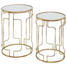 Mindy Brownes Cliona Nest of Tables (2) Gold
