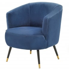 Mindy Brownes Alina Tub Chair Fabric Blue