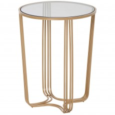 Mindy Brownes Aida Table Small Gold