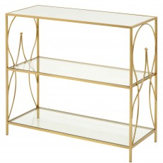 Mindy Brownes Maci Console Table Gold