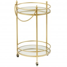 Mindy Brownes Kali Bar Trolley Gold