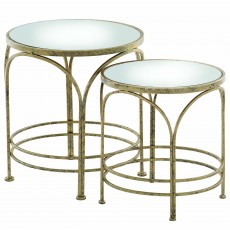 Mindy Brownes Ethan Nest of Tables (2) Gold