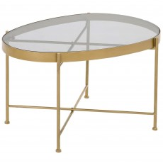 Mindy Brownes Austin Table Small Gold