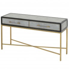 Mindy Brownes Hamilton Hall Table Shagreen Gold