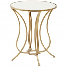 Mindy Brownes Talia Side/Lamp Table Gold