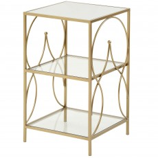 Mindy Brownes Maci Side Table Gold