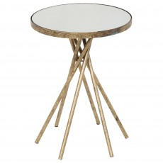 Mindy Brownes Johana Side/Lamp Table Gold