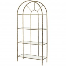 Mindy Brownes Heidi Etagere Shelving Unit Gold