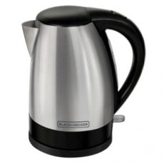 Black & Decker 1.7L Kettle Brushed Steel