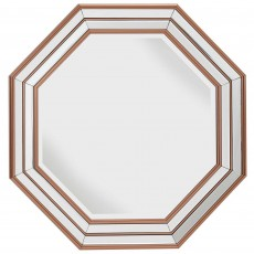 Mindy Brownes Charlette Mirror Rose Gold
