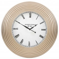 Mindy Brownes Vaughan Clock Champagne