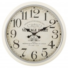 Mindy Brownes Vintage Port Clock Cream