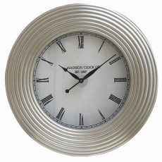 Mindy Brownes Vaughan Clock Silver