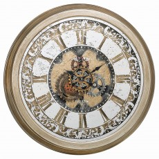 Mindy Brownes Farrah Clock Antique Gold