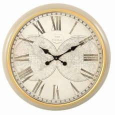 Mindy Brownes World Clock Beige