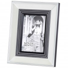 "Mindy Brownes Kalee Photo Frame (4"" x 6"") Silver"