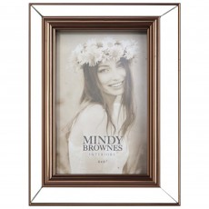 "Mindy Brownes Cassie Photo Frame (4"" x 6"") Copper"