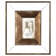 "Mindy Brownes Giselle 5"" x 7"" Photo Frame Bronze"