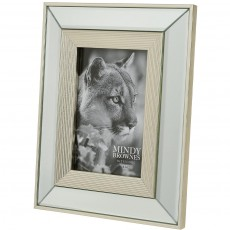 "Mindy Brownes Ava Photo Frame (4"" x 6"") Champagne"