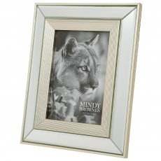 "Mindy Brownes Ava Photo Frame (5"" x 7"") Champagne"