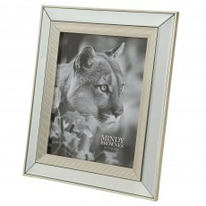 "Mindy Brownes Ava Photo Frame (8"" x 10"") Champagne"