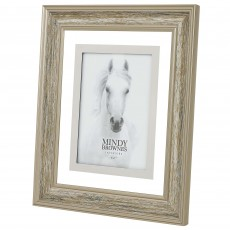 "Mindy Brownes Madison Photo Frame (5"" x 7"") Wood Silver"
