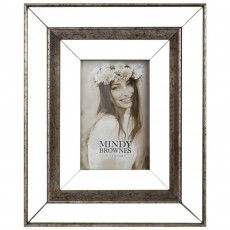 "Mindy Brownes Debra Photo Frame (4"" x 6"") Antique Bronze"