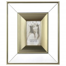 "Mindy Brownes Ena Photo Frame (5"" x 7"") Gold"