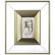 "Mindy Brownes Ena Photo Frame (4"" x 6"") Gold"
