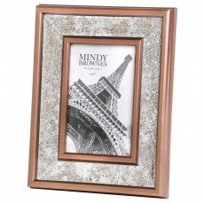 "Mindy Brownes Sarah Photo Frame (4"" x 6"") Rusted Bronze"