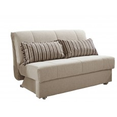 Metz 120cm Sofabed Fabric A
