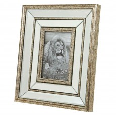"Mindy Brownes Mia Photo Frame (4"" x 6"") Antique Gold"