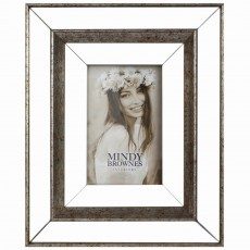 "Mindy Brownes Debra Photo Frame (5"" x 7"") Antique Bronze"