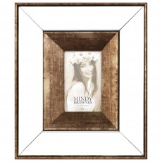 "Mindy Brownes Giselle 4"" x 6"" Photo Frame Bronze"