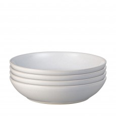 Denby Intro 4 Piece Set of Pasta Bowls White