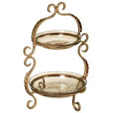 Mindy Brownes 2 Tier Cake Stand