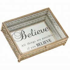 Mindy Brownes Tanya Jewellery Box Gold
