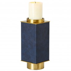 Mindy Brownes Brook Small Candle Holder Blue