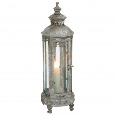 Mindy Brownes Iris Small Lantern Antique Silver