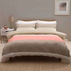 Belledorm Whistler Duvet Cover Set Coral
