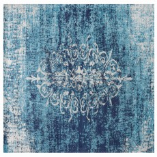 Mindy Brownes Jacquard Woven Rug Blue
