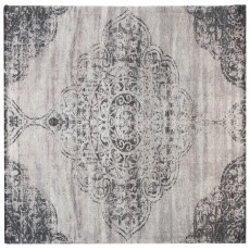 Mindy Brownes Jacquard Woven Rug Grey