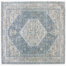 Mindy Brownes Jacquard Woven Rug Beige & Grey