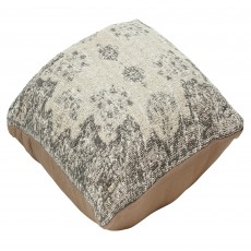 Mindy Brownes Woven Cushion 50cm x 50cm Natural Grey