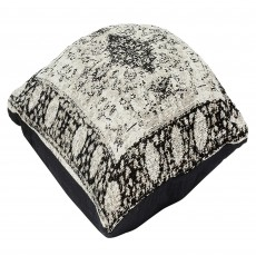 Mindy Brownes Woven Cushion 50cm x 50cm Natural Black