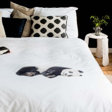Snurk Lazy Panda Duvet Cover Set